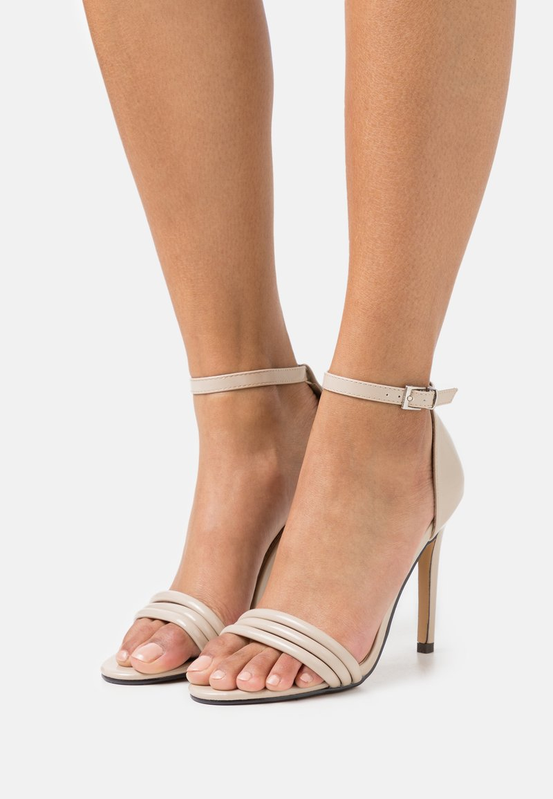 4th & Reckless - CARMEN - High heeled sandals - nude