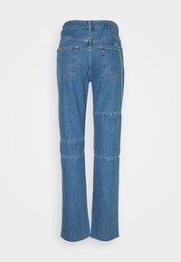 MM6 Maison Margiela - Straight leg jeans - medium cast - 1