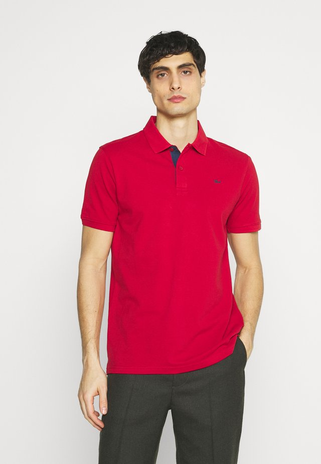 Koszulka polo - fiery red