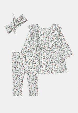 BUNDLE MANDY DRESS QUINN SET - Leggings - Trousers - vanilla/turtle green