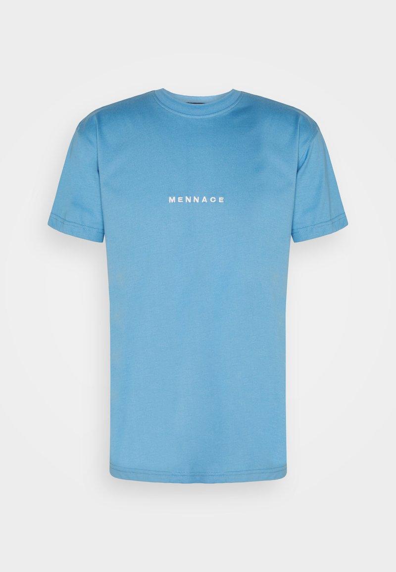 Mennace - MENNACE ESSENTIAL UNISEX - T-shirt imprimé - blue