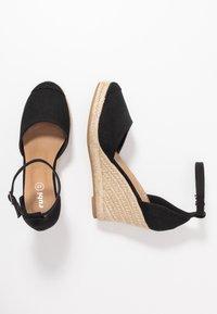 Rubi Shoes by Cotton On - FLORENCE CLOSED TOE  - Hoge hakken - black - 3