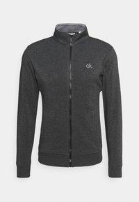 Calvin Klein Golf - COLUMBIA FULL ZIP - Jumper - charcoal marl - 3