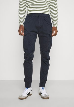 VILLANUVA - Cargo trousers - navy