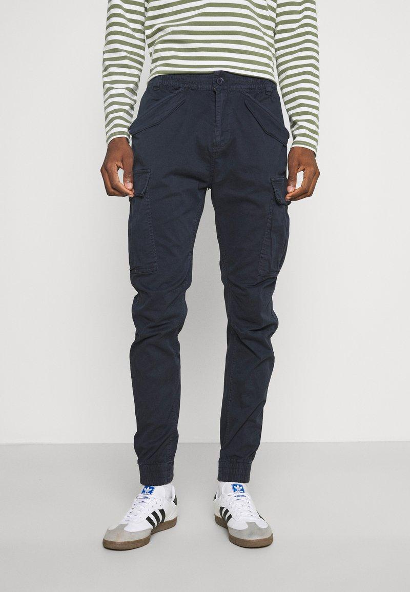 INDICODE JEANS - VILLANUVA - Cargo trousers - navy