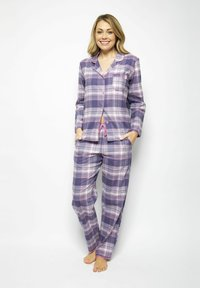 Cyberjammies - Pyjama bottoms - lilac chks - 1