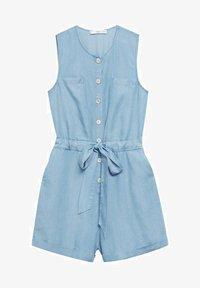 Mango - Jumpsuit - medium blue - 5