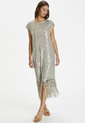 Cocktail dress / Party dress - agate gray