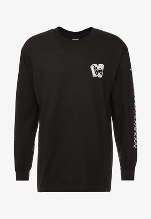 PAVILLION TEE - Long sleeved top - black