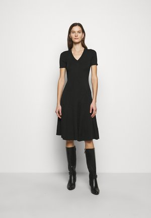 Day dress - polo black