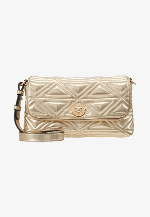 CAPSULE HOLIDAY QUILT - Across body bag - oro gold