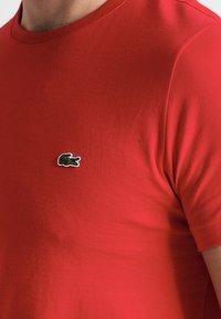 Lacoste - T-shirt basique - rouge - 3