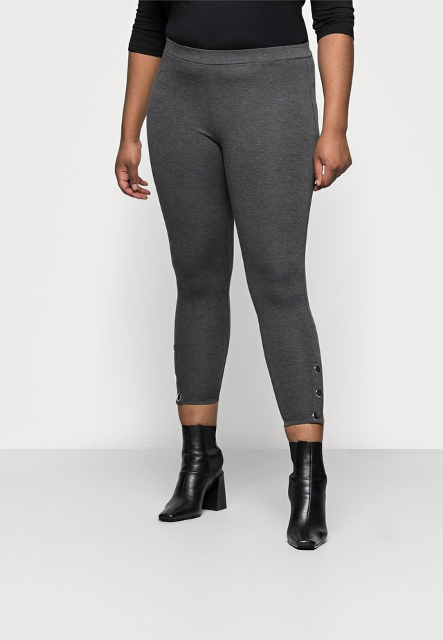 PONTE POPPER - Leggingsit - grey