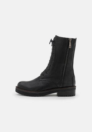 AGLAONEME - Lace-up ankle boots - oxside black