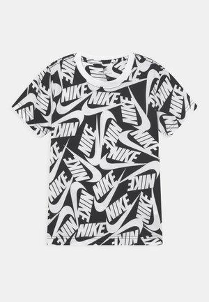 FUTURA TOSS - Print T-shirt - black