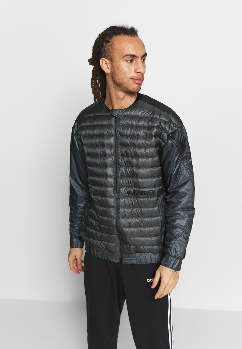 adidas Performance - TERREX HIKE BOMBER JACKET - Untuvatakki - grey six