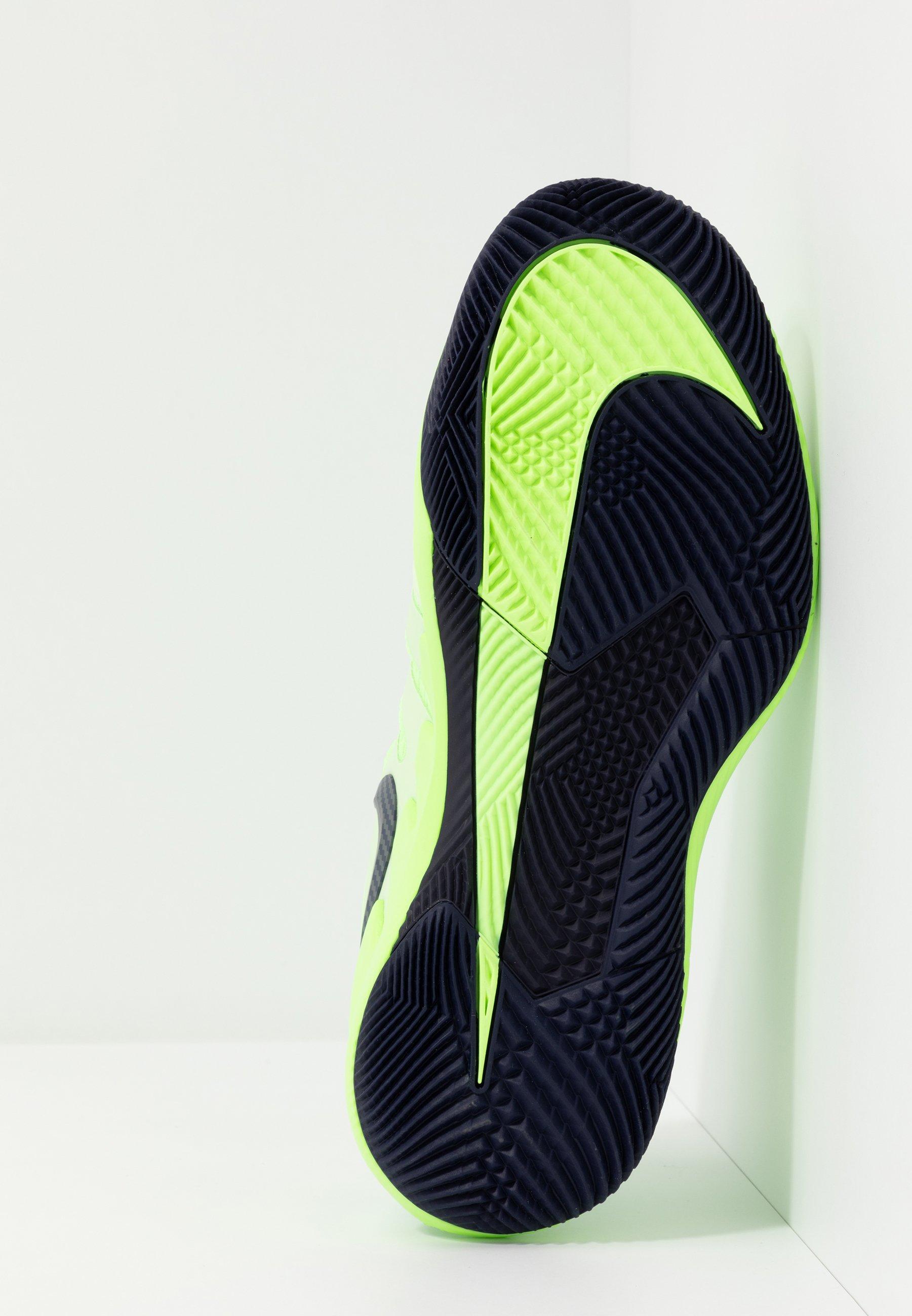 Nike Performance AIR ZOOM VAPOR X - Multicourt Tennisschuh - ghost green/blackened blue/barely volt/grün - Herrenschuhe gy5tN
