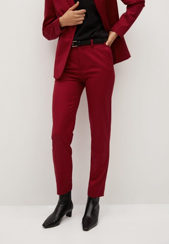 Pantalones Rojos De Mujer Coleccion Online En Zalando