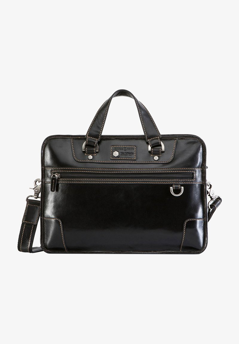Jekyll & Hide - OXFORD - Briefcase - black