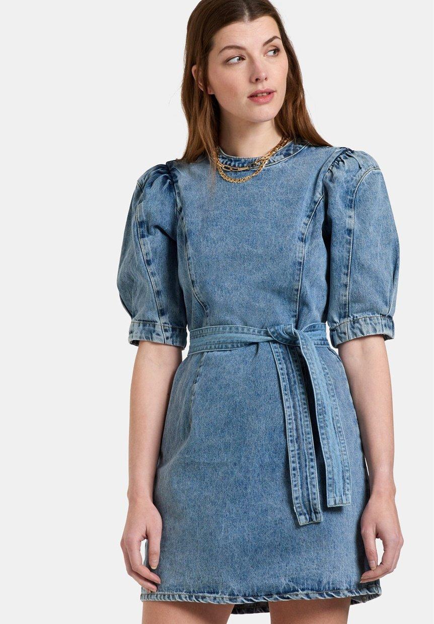 Donna IZZY SUMMER DRESS - Vestito di jeans