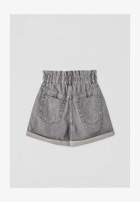 PULL&BEAR - Denim shorts - light grey - 1