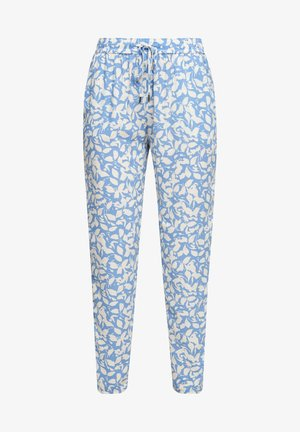 Trousers - blue lagoon aop