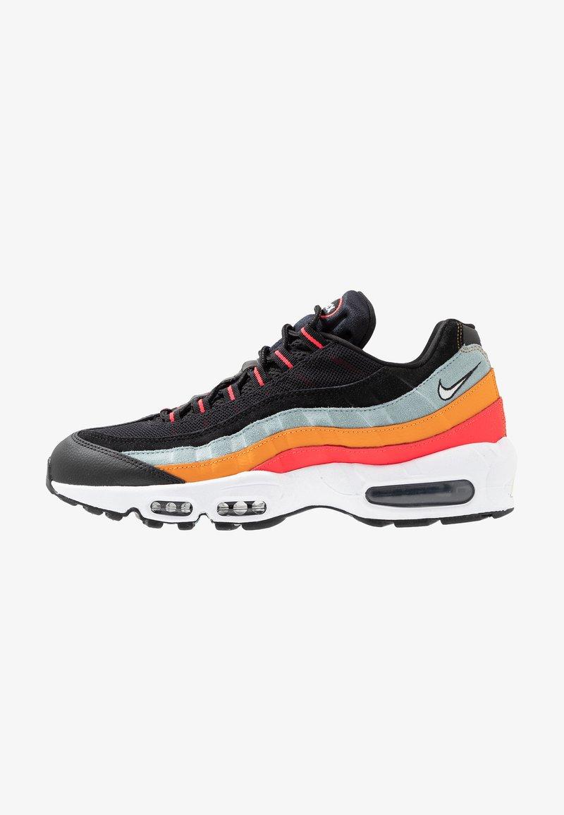 Nike Sportswear - AIR MAX - Trainers - black/white/ocean cube/kumquat/red orbit