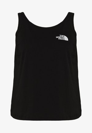 W SIMPLE DOME TANK - Top - black