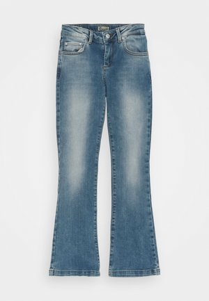 FALLON  - Flared Jeans - zinnia wash