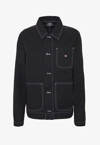 TOCCOA - Džínová bunda - black
