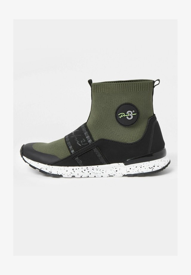 Zapatillas altas - khaki