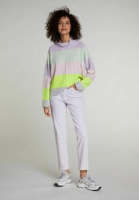 Oui - Trousers - orchid hush - 1