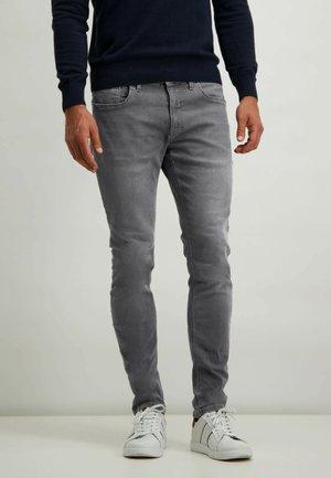 Slim fit jeans - silvergrey plain