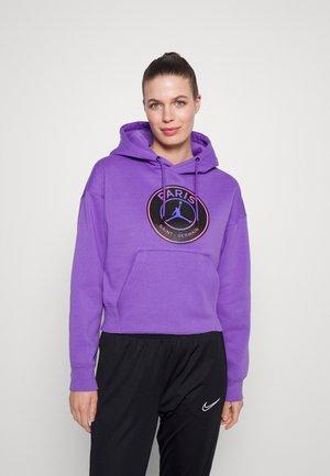 JORDAN PARIS ST GERMAIN HOODIE CORE - Club wear - wild violet