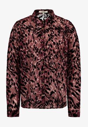 ALLOVER PRINT - Overhemdblouse - tawny port