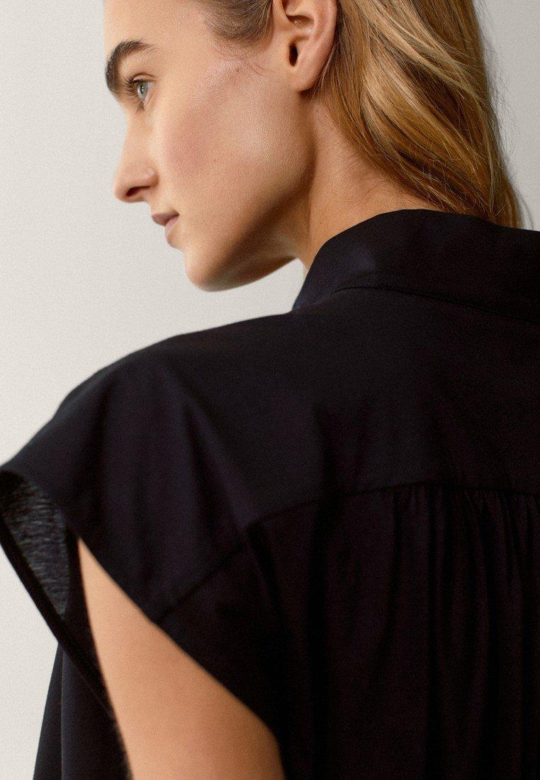 Massimo Dutti Overhemdblouse - black - Dameskleding Oprecht