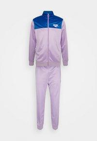 ASHFORD TRACKSUIT - Tracksuit - purple/blue