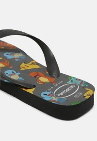 Havaianas - POKEMON UNISEX - T-bar sandals - new graphite - 4