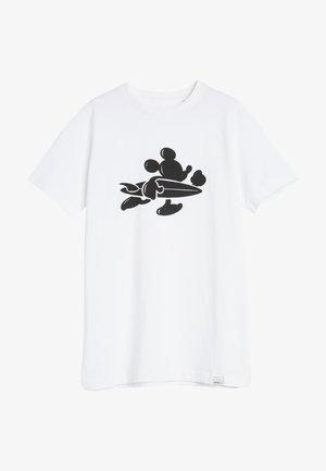 DISNEY MICKEY MOUSE - T-shirt imprimé - super white