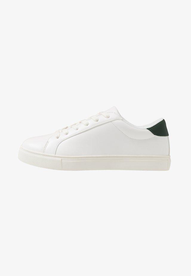LEWISHAM - Baskets basses - white/khaki