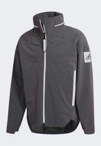 adidas Performance - MYSHELTER URBAN RAIN.RDY OUTDOOR - Outdoor jacket - grey - 9