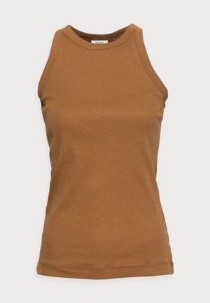 Top - brown ochre