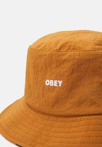 Obey Clothing - REVERSIBLE BUCKET HAT UNISEX - Šešir - chili/multicolor - 4