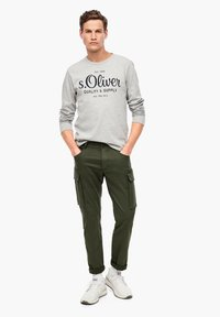 s.Oliver - Cargo trousers - khaki - 1
