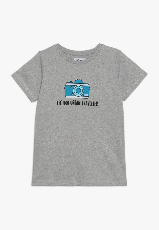 LIL' PHOTOGRAPHER - T-shirt imprimé - light grey melange