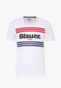 Blauer - MANICA CORTA - T-shirt med print - bianco - 4
