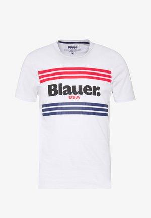 MANICA CORTA - T-shirt con stampa - bianco