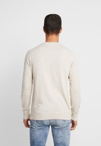 American Eagle - CREW - Pullover - oatmeal heather - 2