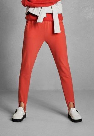 Leggings - Trousers - fluor red