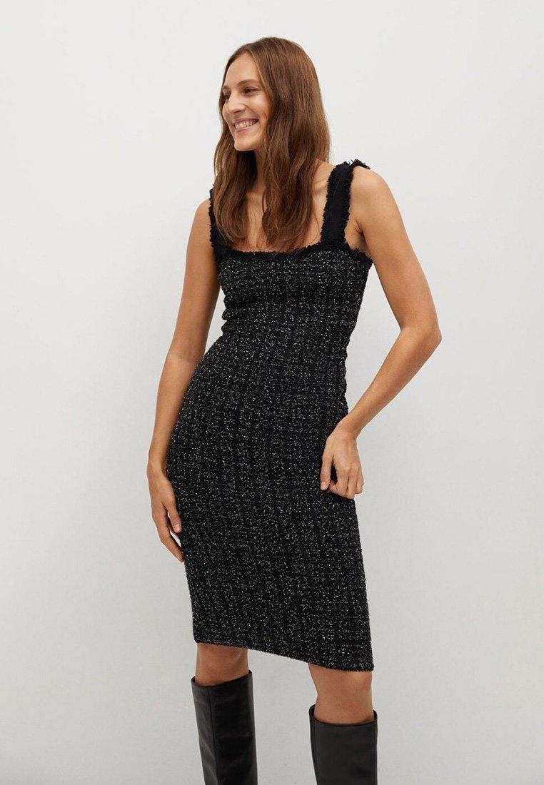 Mango - Day dress - zwart